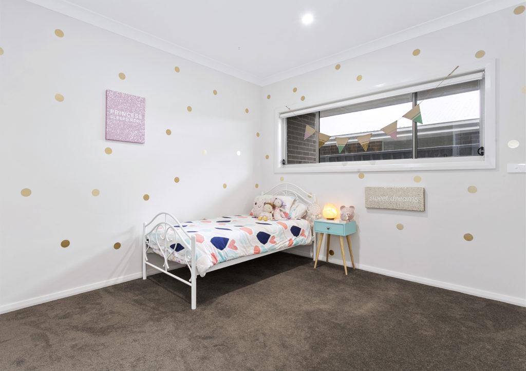 bedroom of new home