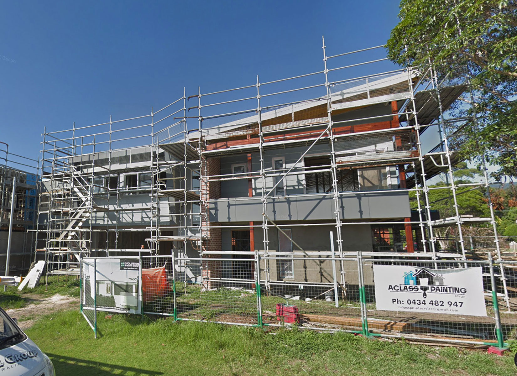 Knockdown Rebuild - Thirroul In Construction